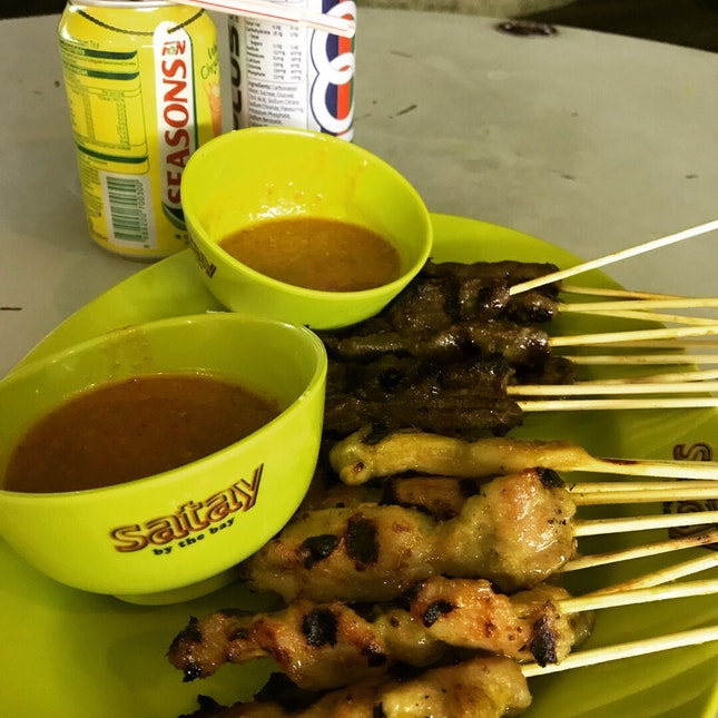 Chicken/Mutton Satay $0.70 Each