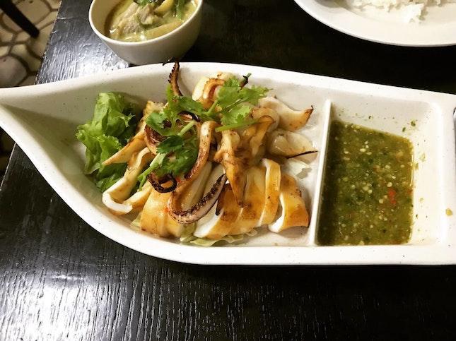 BBQ Squid $15 👍🦑