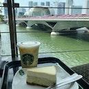 Yuzu gen Cheesecake $7.20 ~ Yuzu Honey Jelly Frappuccino (G) $9.10