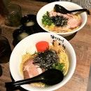 Mazesoba Char Siew + Mazesoba Cod Roe $13.80 (Free Noodle Upsized)