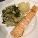 Salmon Dish $9.90 (Free Gooey Cake For IKEA Family Member)