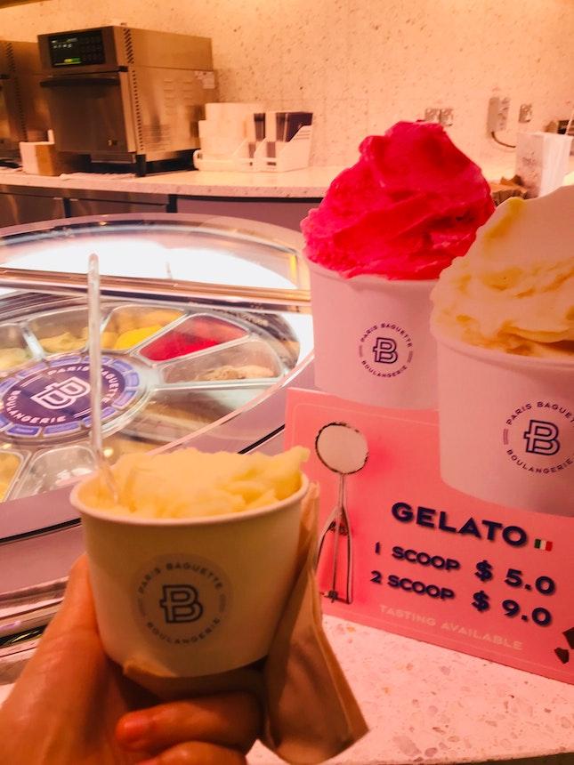 Lemon Gelato (1 Scoop $5)