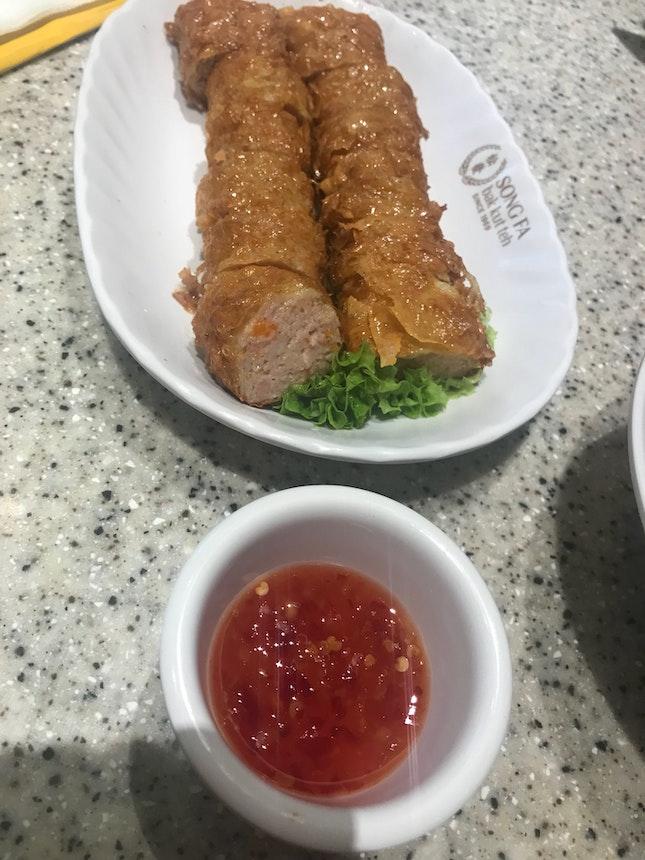 Homemade Ngoh Hiang $9.10