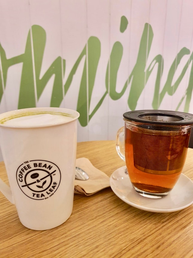 (Beyond: 1 For 1) Left: Matcha Latte |Right: Chai & Rooibos Tea $7.50