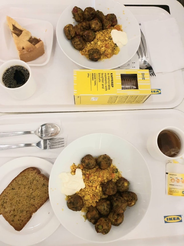 Vegetarian Life @IkeaSingapore $10 Per Person