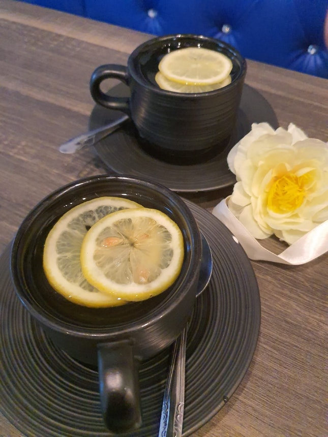 Honey Lemon (Hot) $3 per cup