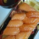 Salmon Sushi (10 Pcs For $7.80)
