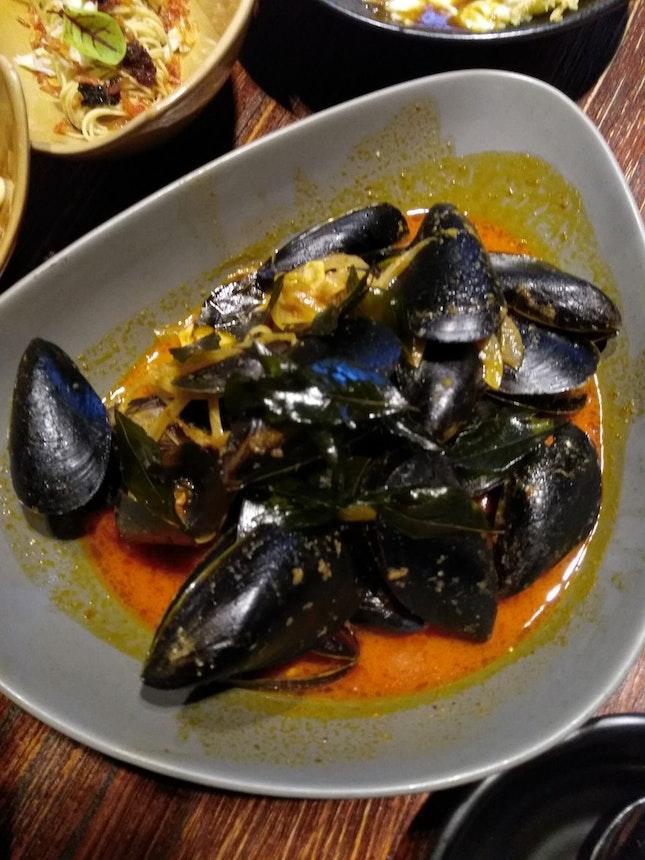 Laksa Mussels!!!