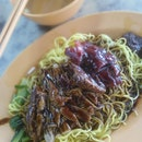 No Name Roast Meats, Chicken Rice And Noodles Stall In Hup Choon Seafood Kopitiam