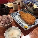 The Gin-Jo-Pork Loin Katsu Set.