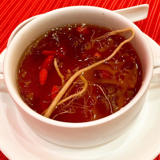Chilled Coralweed With Ginseng And Wolfberry