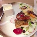 Cod Fish & Charred Octopus