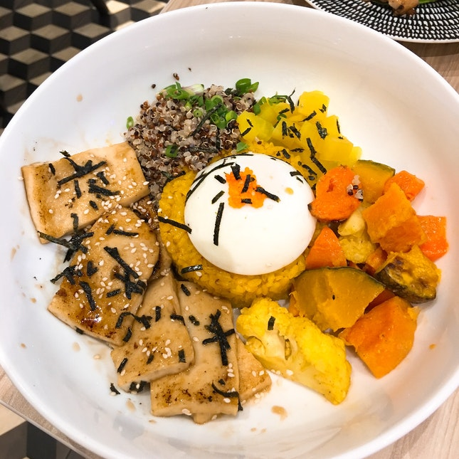 Teriyaki Tofu Poke Bowl