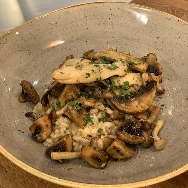 Mushroom & Truffle Risotto