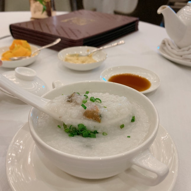 Sundried Oyster Congee