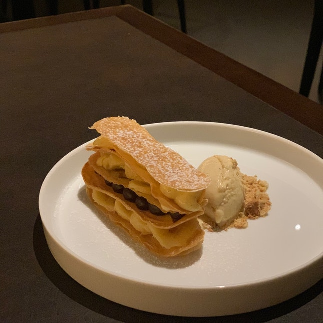 Coffee & Banana Mille-feuille