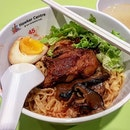 pork ribs mee pok dry 👍🏻 26.7.19 #foodporn #sgfoodporn #foodsg #sgfoodies #instafood #foodstagram #vscofood #burpple #hungrygowhere #hawkerfood #hawkercentre