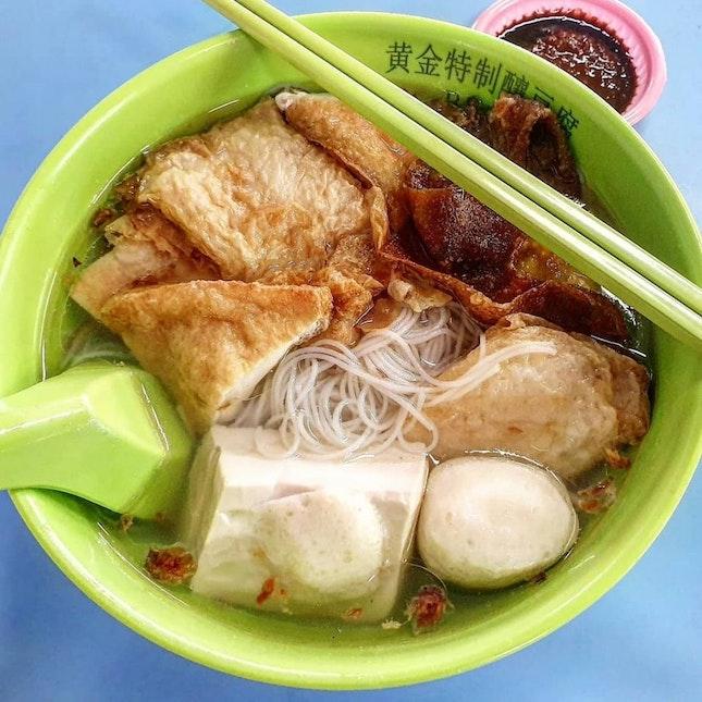 bee hoon yong tau foo 👍🏻 12.9.19 #foodporn #sgfoodporn #foodsg #sgfoodies #instafood #foodstagram #vscofood #burpple #hungrygowhere #hawkerfood #hawkercentre