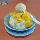 gangster ice (durian-mango) 👍🏻 23.11.19 #foodporn #sgfoodporn #foodsg #sgfoodies #instafood #foodstagram #vscofood #burpple #hungrygowhere #hawkerfood #hawkercentre