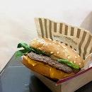 Angus Mushroom Burger!!!
