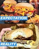 EXPECTATIONS VS REALITY 😭😭😭 .