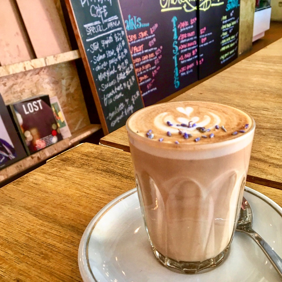 Lavender Latte Was Ok, Food Portions Very Small