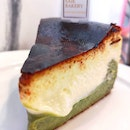 ♥Two-faced♥️ - Burnt Basque Cheesecake 🍰+ Uji Matcha 🍵 ($8.50)
