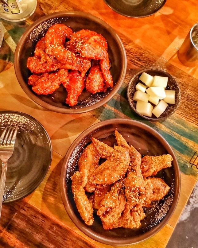 Yang Nyeom Chicken ($20/Half)