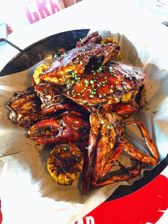 Delish Meaty Crabs!