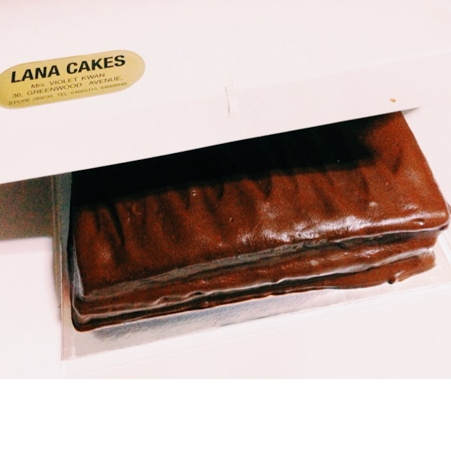 Lana Chocolate Fudge Cake