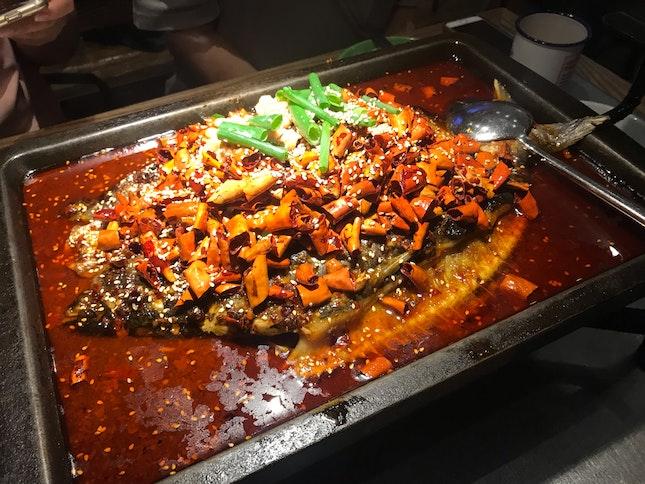 Spicy Sauce Limbo Fish