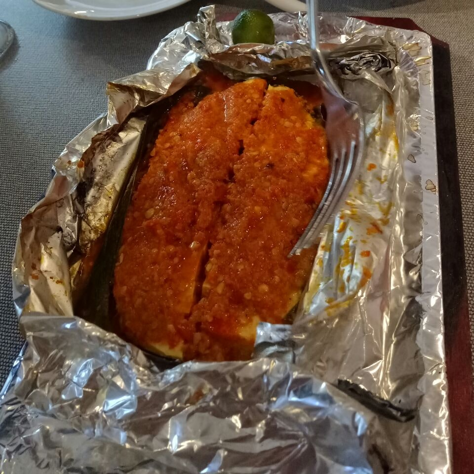 Spicy Grilled Cod Fish