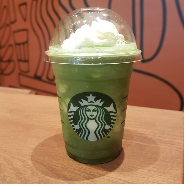 Matcha Blended Cream Frappuccino