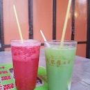 Various Mix Fresh Fruit Juice