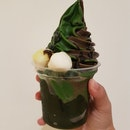 Mixed Flavour Soft Serve With Yamari Jelly
