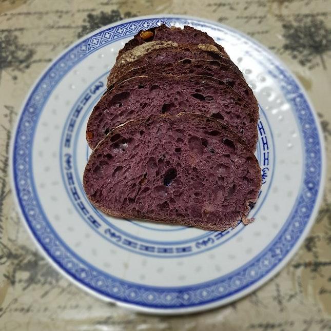 Purplewheat Sourdough With Candied Orange