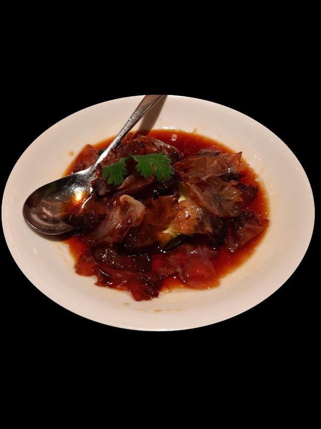 醋酱海蛰头 (Jellyfish in Soy Sauce Vinaigrette
