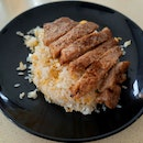 Pork Ribs Fried Rice