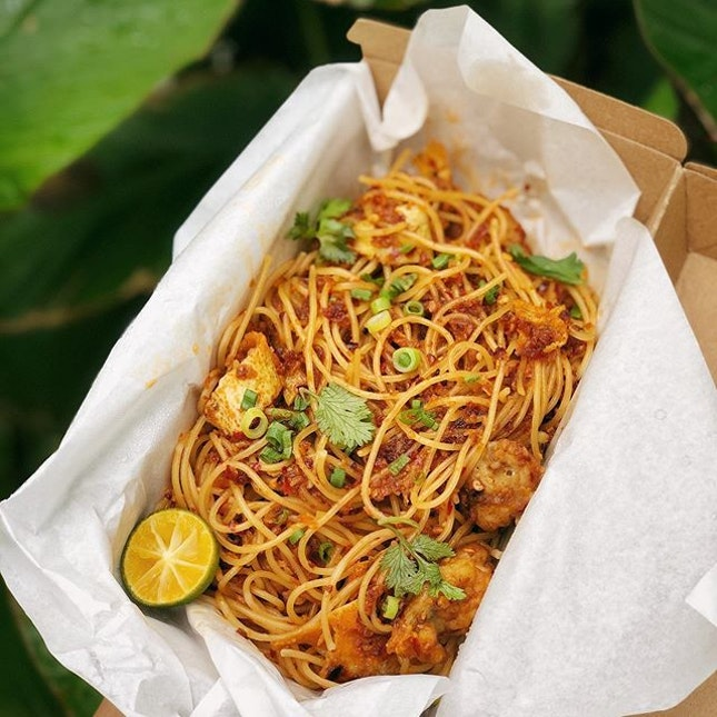 Roketto Oyster Omelette Spaghettini ($22.80+)