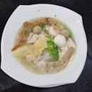 Singapore Style Abalone Noodle