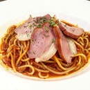 Smoked Duck Pasta Set Lunch