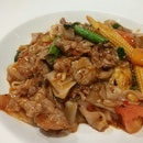 Thai Style Fried Kway Teow With Beef