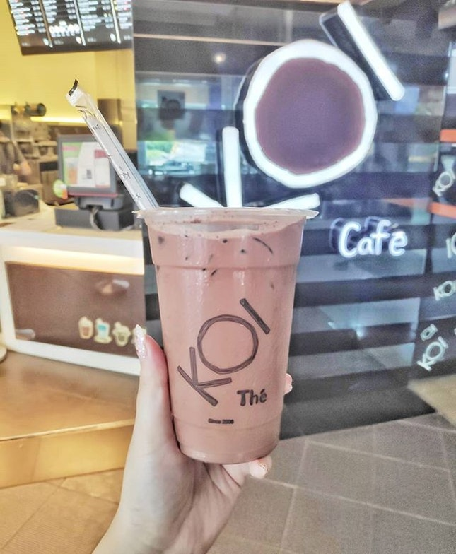 My friend recommended me to try KOI's Cacao Barry ($3.60) drink when we found out that we both love ice chocolate 😋 Though I love the dark chocolaty and slight bittery taste, I find the drink not thick enough?