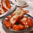Cantonese Style Steamed Lobster — $58
