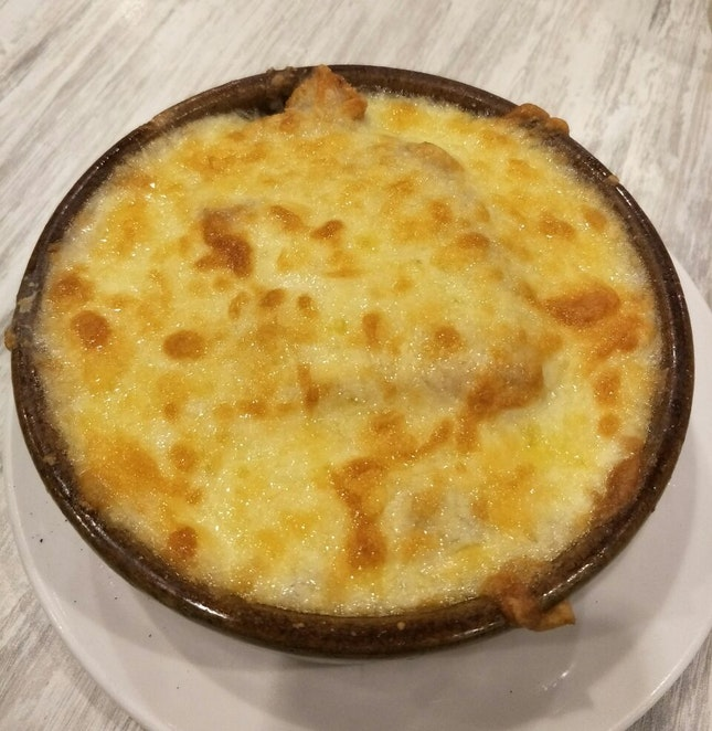 Cheese Baked Rice (RM18)