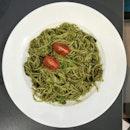 Mushroom Pesto Pasta (RM16.90)