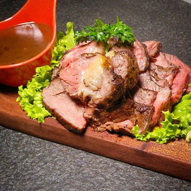 The Roast Beef is also another pre-order only item.