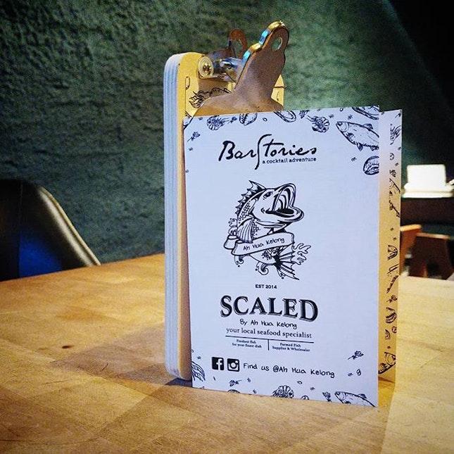 Bar Stories & Scaled, by Ah Hua Kelong.