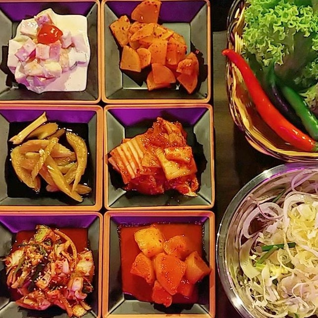 Like all authentic Korean joints, endless refill of banchan is a gesture of hospitality.
