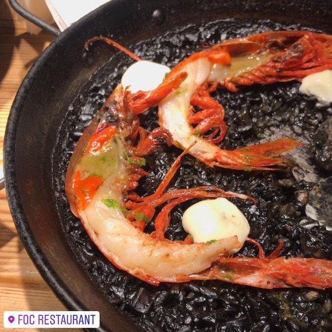 Best Squid Ink Paella Goes To FOC